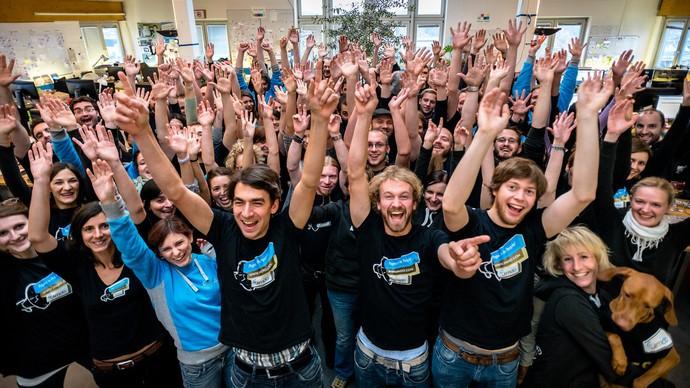Das Jimdo Team aus Hamburg