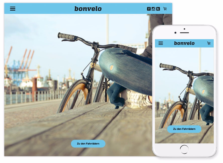 bonvelo bike onlineshop