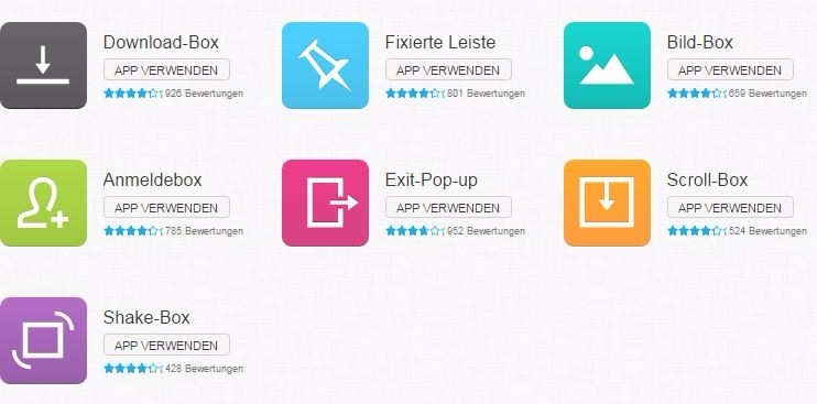 formular-apps in GetResponse