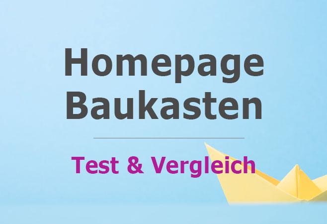 Homepage Baukasten Im Test Website Software Vergleich 2019
