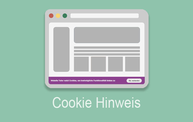 cookie hinweis text