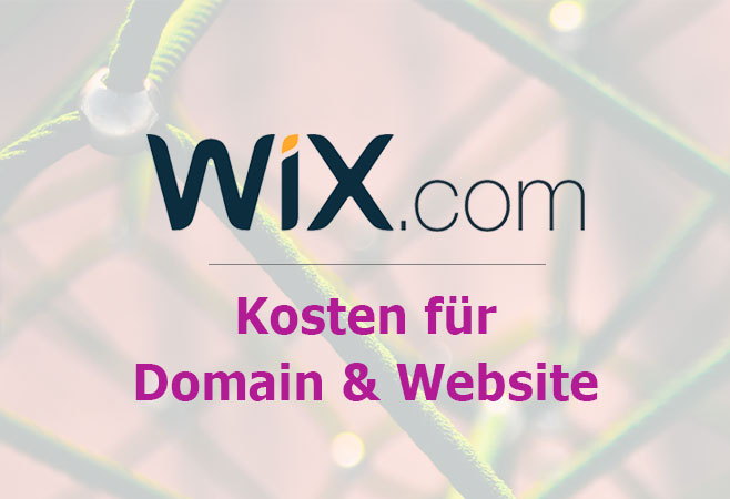 Wix Kosten Domain Preise Homepage Tarife Website Tutor