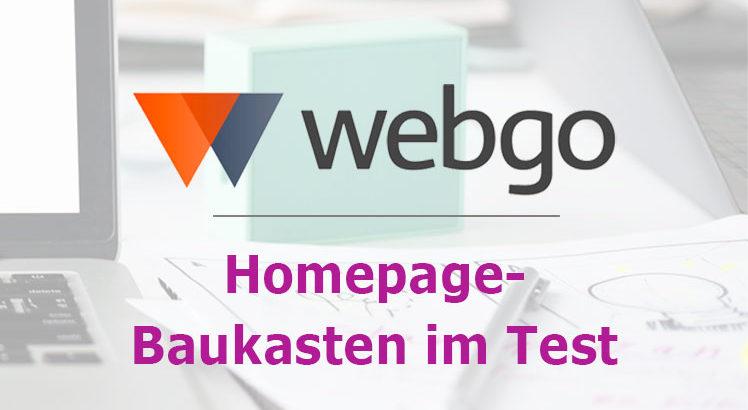 webgo homepage baukasten