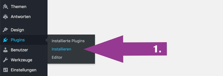Schritt 1: plugin classic editor