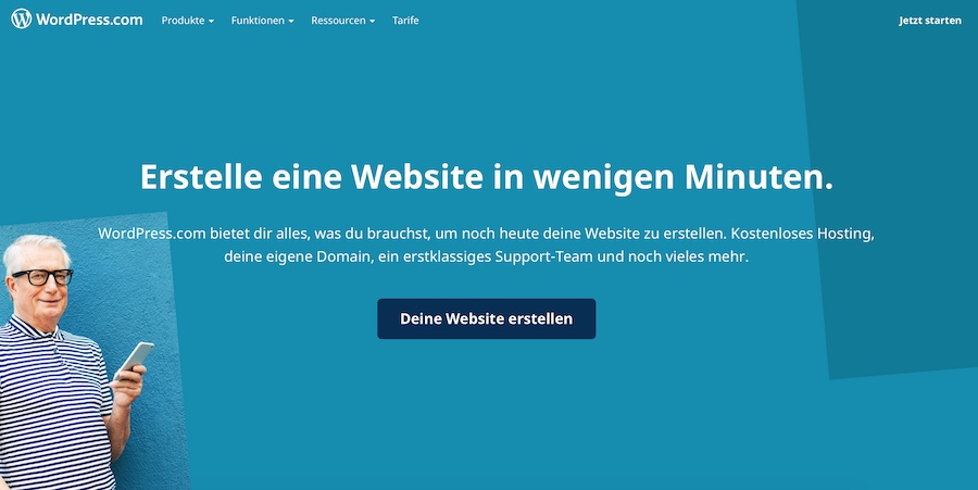 WordPress Startseite
