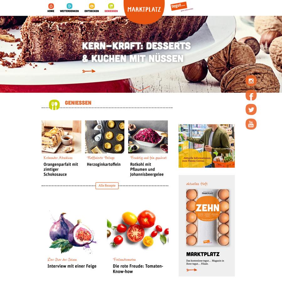 Wordpress Magazin website beispiel