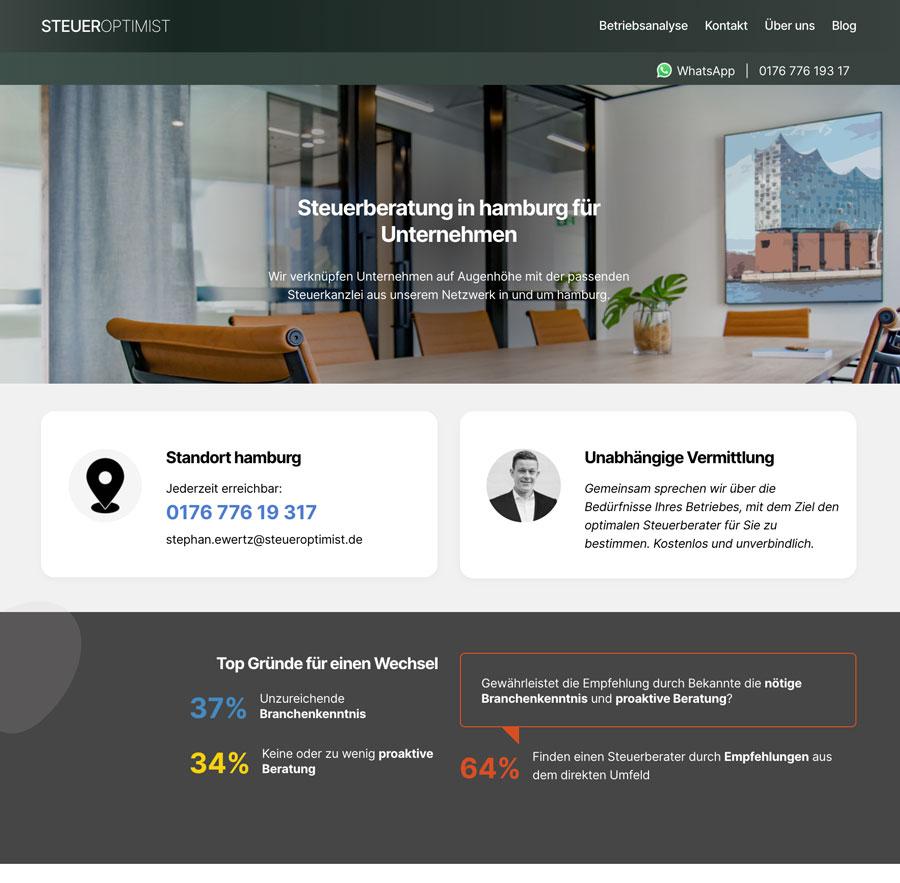 steueroptimist wordpress website