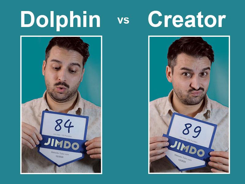 jimdo dolphin vs creator