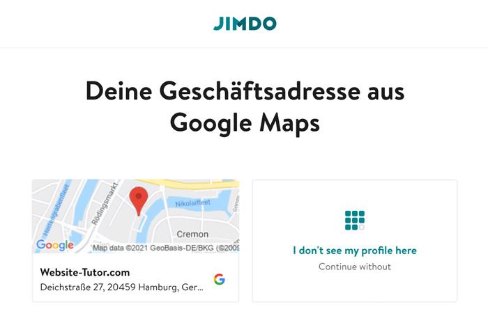 jimdo website einrichten ganz leicht