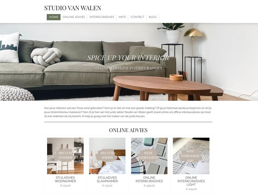 Webador Shop Beispiel